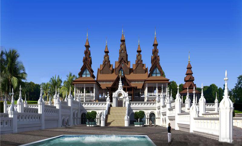 勐巴拉国际旅游度假区-效果图