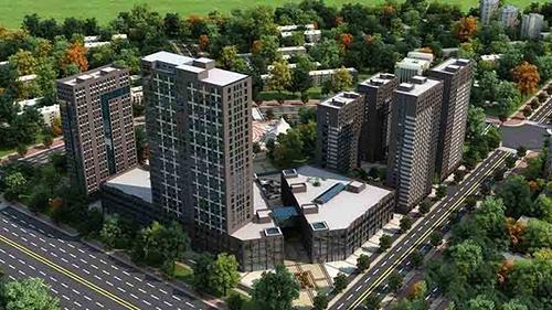 龙腾国际楼盘为高层 均价3860 元/平方米。
