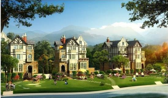高黎贡国际旅游城建面80-150㎡在售 均价4000元/㎡