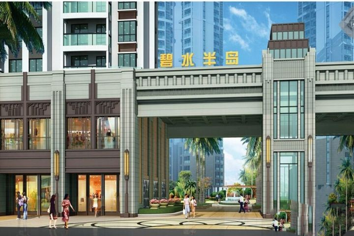 碧水半岛项目7#楼均价在9800-11000元/㎡