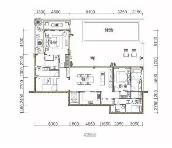 6室4厅7卫 243.24㎡