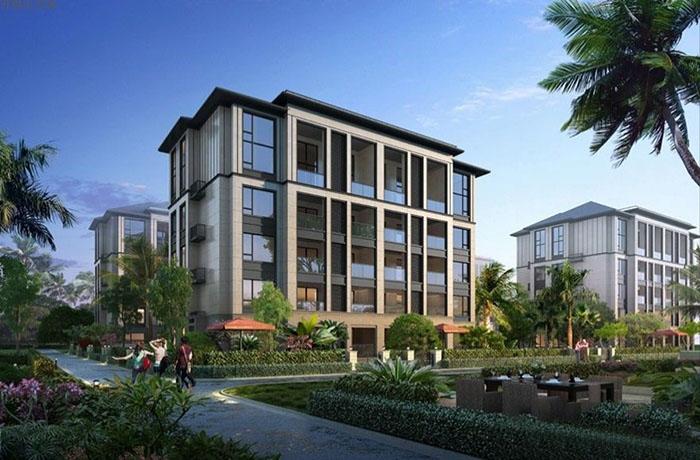 开维生态城合欢洋房在售户型约248平 均价17300元/平