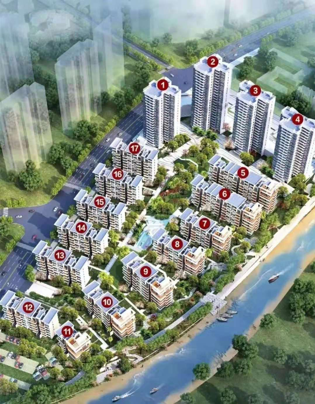 中信国安丨北海第一城 一期3号地块 10月15日正式开售