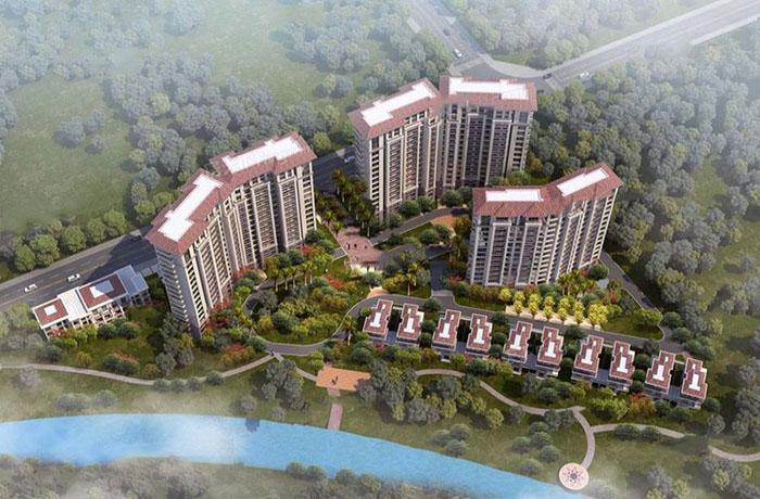 园辉红树湾预计2020年6月30日交房