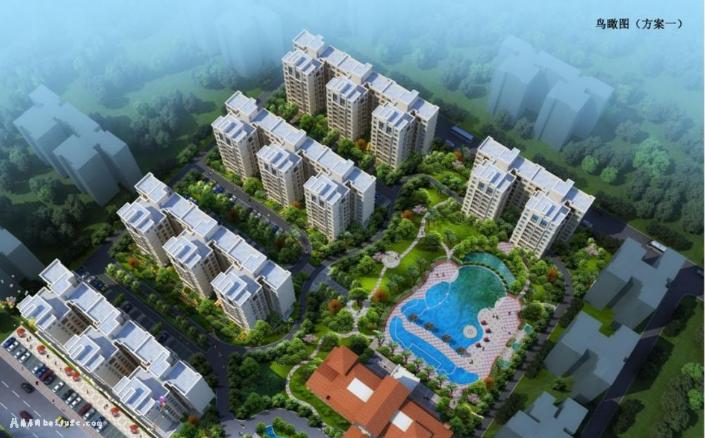 中电海湾国际社区在售价格为:8500元/平方米