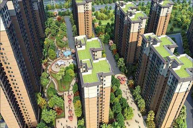 中金海湾壹号在售主力户型为76.38平-89.88平2居-3居