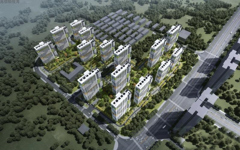 兆信铂悦湾2#主推户型为建筑面积48平一房,66平两房