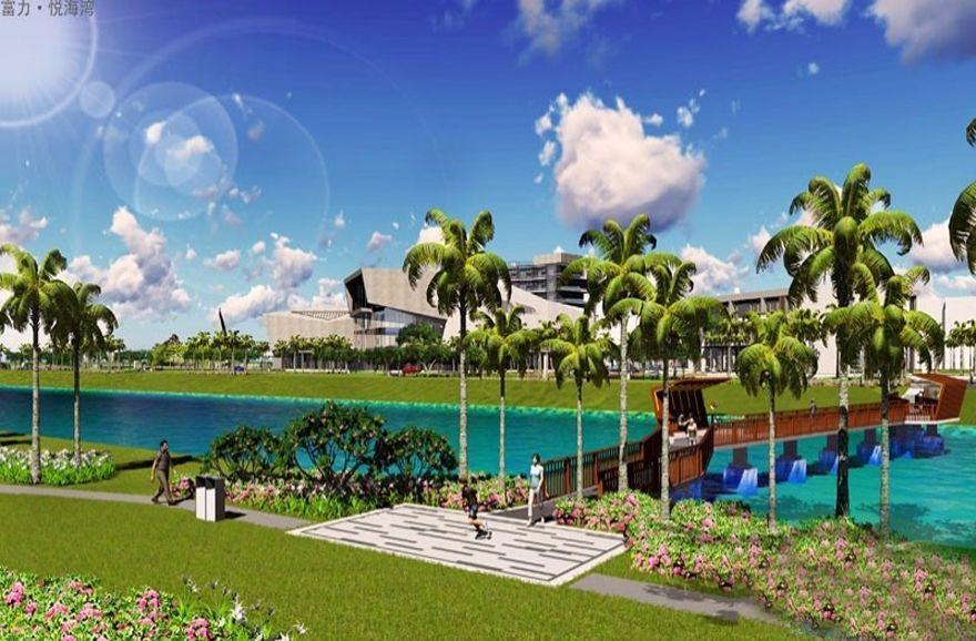 富力悦海湾住宅有瞰海和不瞰海