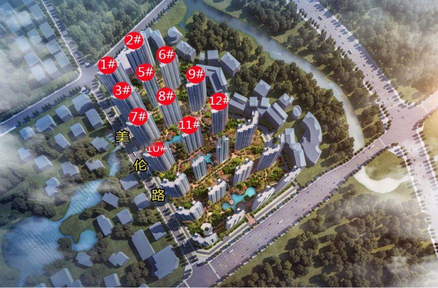 融创美伦熙语两房特惠总价82万/套起